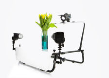 Still Life Photo shooting table Royalty Free Stock Images