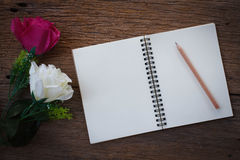 Still life photography concept by memory note Stock Photography