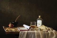 Still life Photography with  desk Stock Photos