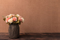 Still life photography with roses. Vintage style concept royalty free stock photos
