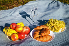 Still life. picnic with healthy food Royalty Free Stock Image