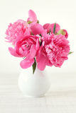 Still life with pink flowers Royalty Free Stock Images