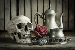 Still life pocket watch Royalty Free Stock Photography