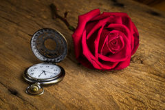 Still life pocket watch Royalty Free Stock Photo
