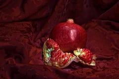 Still life with pomegranate. stock photography