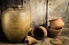 Still life the pottery Stock Photo