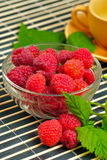Still life with raspberries Royalty Free Stock Images