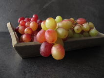 Still life with red grapes Stock Image