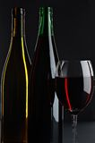 Still life with red and white wines Stock Photo