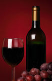 Still-life with red wine Stock Photo
