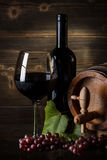 Still life with red wine Royalty Free Stock Image