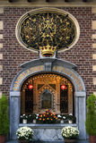 Still life of religious sanctuary of the Holy Mary Royalty Free Stock Photos