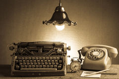 Still life  retro office Royalty Free Stock Photography