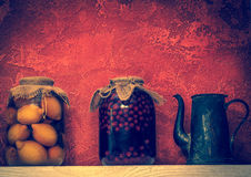 Stewed fruit Stock Photo