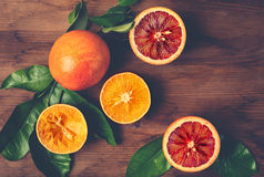Still Life with Ripe Juicy Citrus Fruits Royalty Free Stock Photography