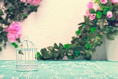 Still life romantic background Royalty Free Stock Images