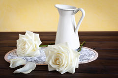 Still life with Roses Royalty Free Stock Photo