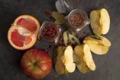 Still-life of rural foods Stock Photography
