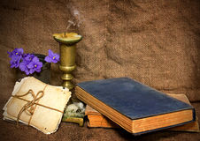 Still life in a rustic style Stock Image