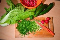 Still Life Salad Royalty Free Stock Photography