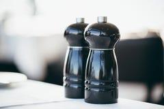 Still-life Salt Pepper Cuisine Concept Royalty Free Stock Image