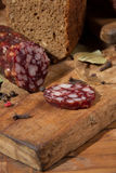 Still life with  sausage Stock Image
