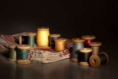 Still life with sewing items Royalty Free Stock Image