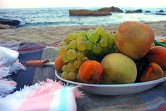 Still life by the shore Stock Image