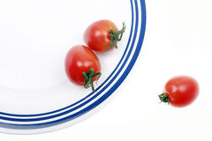 Still life -- small tomato Stock Image
