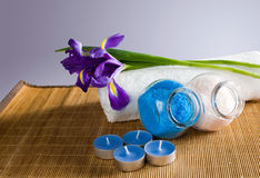 Still life with spa accessories Royalty Free Stock Photography
