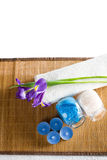 Still life with spa accessories Royalty Free Stock Image