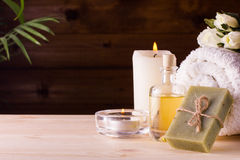 Still life SPA concept Stock Photography