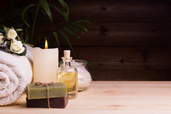 Still life SPA concept Royalty Free Stock Photography