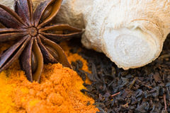 Still life from spices Royalty Free Stock Image