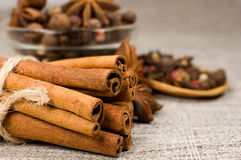 Still life spices Stock Photo