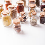 Still life with spices Stock Photos