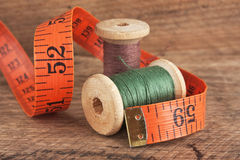 Still life of spools of thread Stock Photography