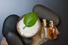 Still-life subjects of relaxing spa Stock Photography