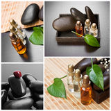 Still-life subjects of relaxing spa Royalty Free Stock Images