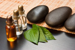 Still-life subjects of relaxing spa Stock Photo