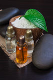 Still-life subjects of relaxing spa Stock Images