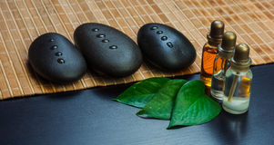 Still-life subjects of relaxing spa Royalty Free Stock Image