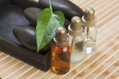 Still-life subjects of relaxing spa Royalty Free Stock Photo