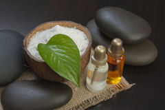 Still-life subjects of relaxing spa Royalty Free Stock Photography