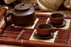 Still Life With Tea Stock Photos