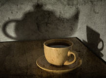 Still-life with a tea cup Royalty Free Stock Images