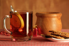 Still life with tea Royalty Free Stock Photography