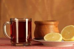 Still life with tea Stock Image
