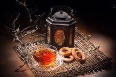 Still Life With Tea Pot Stock Photos