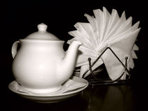Still-life with a teapot. Royalty Free Stock Images